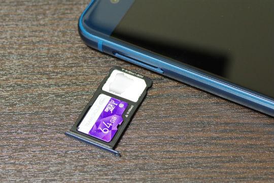 P10 lite SIM・SDカードスロット