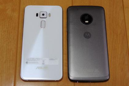 Moto G5 Plus・Zenfone3