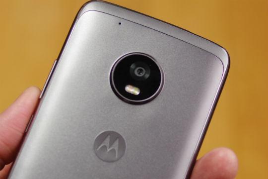 Moto G5 Plus 背面カメラ