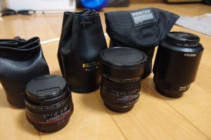 PENTAX 交換レンズおすすめ 3選