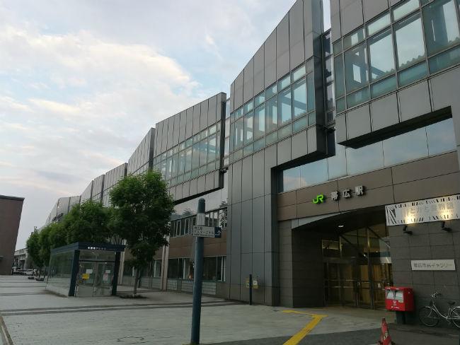 帯広駅 P10