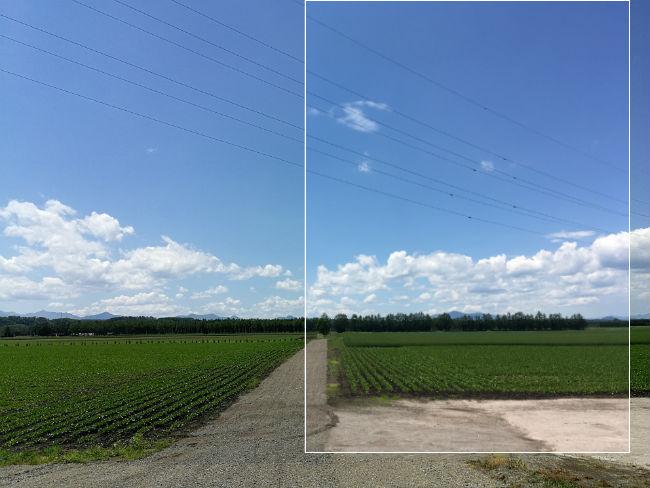 畑 P10・iPhoneSE比較