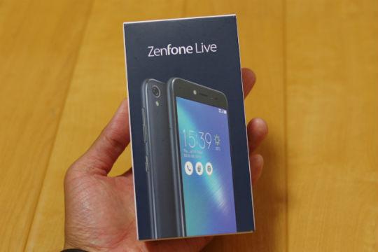 Zenfone Live 外箱
