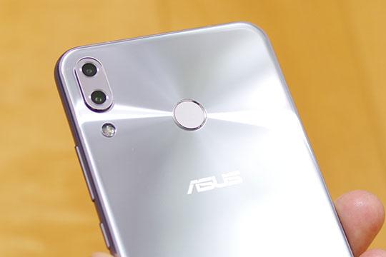 ZenFone5 指紋センサー